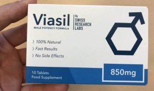 Viasil Potenzmittel: Vorderseite